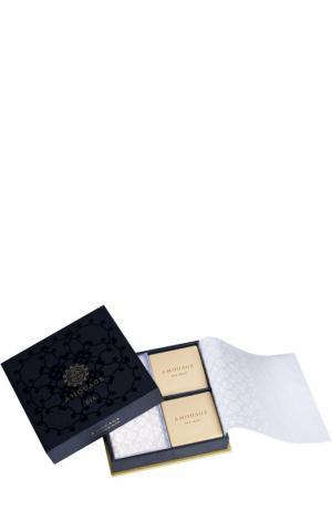 Парфюмированное мыло Dia в наборе Amouage. Цвет: бесцветный