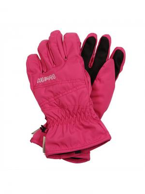 Перчатки для детей KERAN HUPPA. Цвет: фуксия