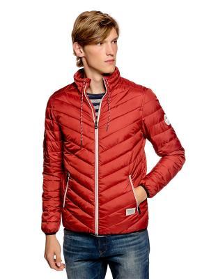 Куртка TOM TAILOR. Цвет: бордовый, красный