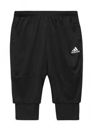 Шорты спортивные adidas Performance. Цвет: черный