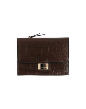 Бумажник FRANCESCO BIASIA. Цвет: темно-коричневый