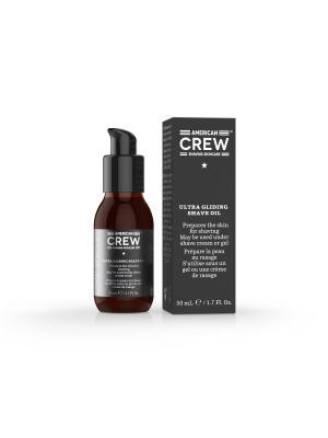 Масло для бритья Ultra Gliding Shave Oil CREW SHAVING SKINCARE 50 мл American. Цвет: коричневый