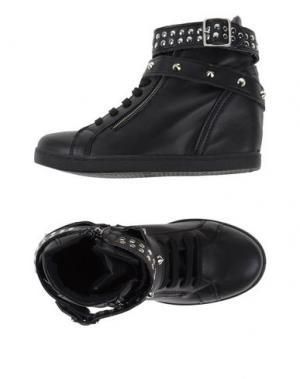 Высокие кеды и кроссовки OVYE' BY CRISTINA LUCCHI. Цвет: черный
