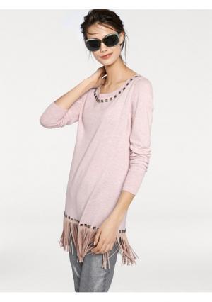 Пуловер RICK CARDONA by Heine. Цвет: лимонный, песочный, розовый, серый меланжевый, черный