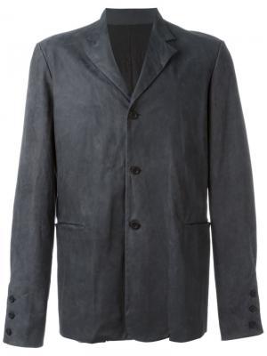 Блейзер с передними карманами Ma+. Цвет: серый
