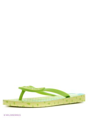 Шлепанцы Ipanema. Цвет: салатовый