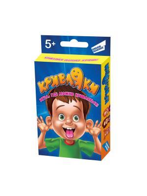 Игра детская настольная Кривляки DREAM MAKERS. Цвет: синий