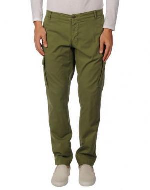 Повседневные брюки FRANKLIN & MARSHALL. Цвет: зеленый