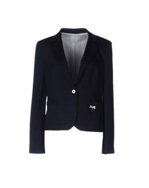 Пиджак FEMÌ. Цвет: темно-синий