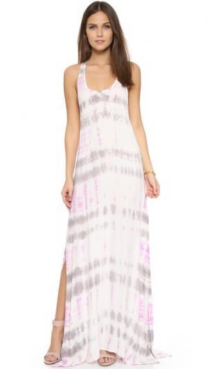 Платье Dite Young Fabulous & Broke. Цвет: бамбуковый лиловый