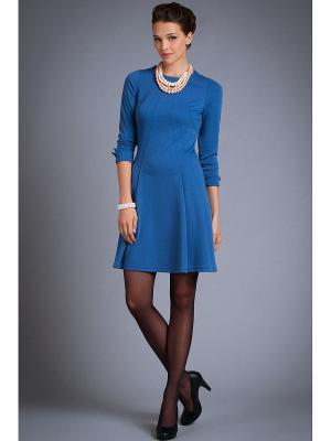 Платья Арт-Деко. Цвет: голубой