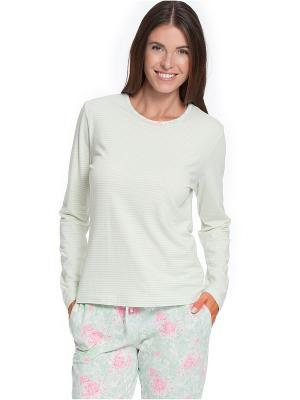 Пижама Taubert. Цвет: салатовый
