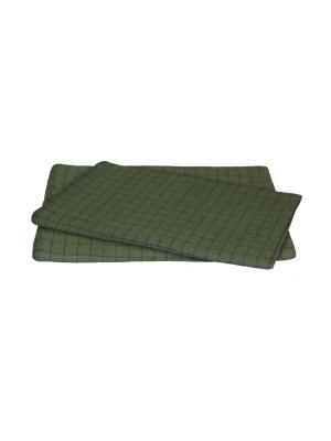 Одеяло Шерстяно-суконная фабрика. Цвет: зеленый
