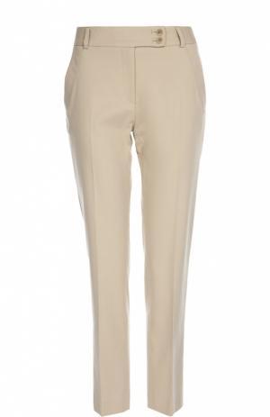 Прямые брюки со стрелками и врезными карманами Gerard Darel. Цвет: бежевый