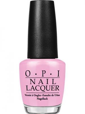 Opi Лак для ногтей Suzi Shops & Island Hops, 15 мл. Цвет: розовый