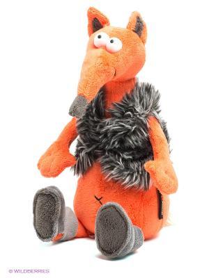 Мягкая игрушка Хитрый Лис&Valenki MAXITOYS. Цвет: оранжевый