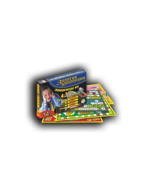 Тop Game. Настольная игра. Набор 4 в 1. Золотая коллекция Экономических игр. TopGame. Цвет: синий, желтый, черный