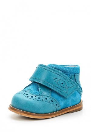 Ботинки Totta. Цвет: бирюзовый