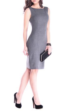 Платье-сарафан MAURINI. Цвет: графитовый