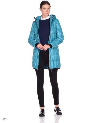 Пальто CATTAIL WILLOW. Цвет: голубой