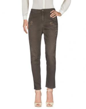 Повседневные брюки SONIA DE NISCO. Цвет: свинцово-серый