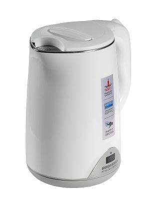 Чайник RK-M125D, 1500 Вт, 1,5 л REDMOND. Цвет: белый