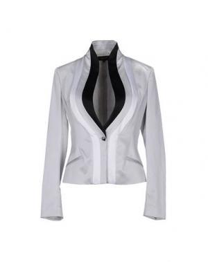Пиджак EXTE. Цвет: светло-серый