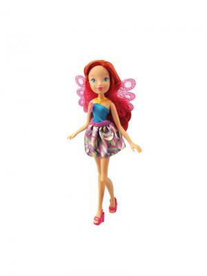 Кукла Winx Club Волшебный питомец, Bloom. Цвет: бежевый