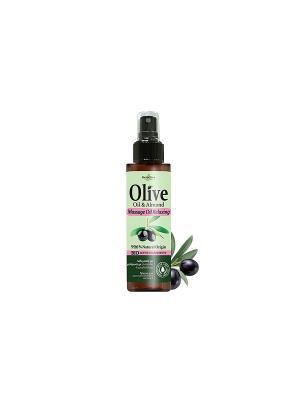 Герболив масло для массажа расслабляющее, 150мл Madis S.A.. Цвет: оливковый