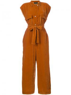 Tulena jumpsuit By Malene Birger. Цвет: жёлтый и оранжевый