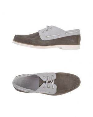 Обувь на шнурках ZERO_571. Цвет: свинцово-серый