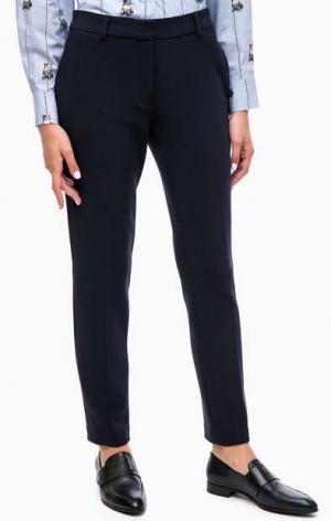 Синие укороченные брюки Paul & Joe Sister. Цвет: синий