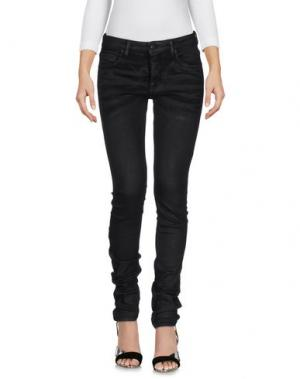 Джинсовые брюки OFF WHITE c/o VIRGIL ABLOH. Цвет: черный