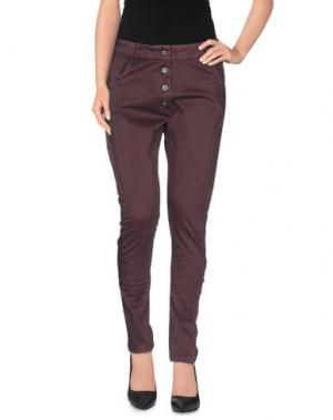 Повседневные брюки FANNY COUTURE. Цвет: баклажанный