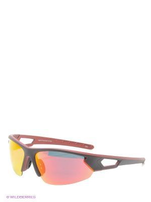 Солнцезащитные очки Legna. Цвет: черный, красный