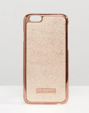 Skinnydip Чехол для iPhone 6 цвета розового золота. Цвет: медный