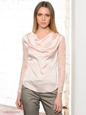 Блузка TOM FARR. Цвет: бледно-розовый
