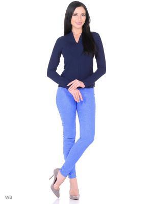 Брюки Magwear. Цвет: голубой