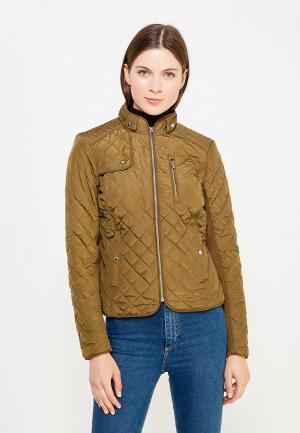 Куртка утепленная Vero Moda. Цвет: хаки