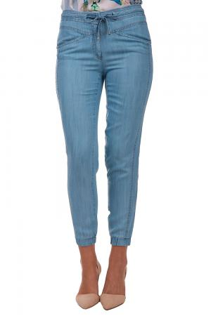 Модные джинсы Apanage. Цвет: голубой