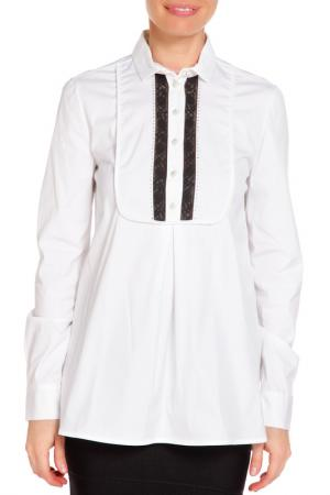 Блуза VDP. Цвет: белый