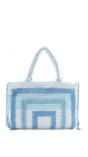 Объемная сумка с короткими ручками Martis Quadri Fogu Antonello