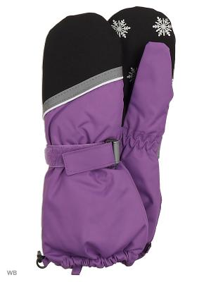 Варежки Icepeak. Цвет: фиолетовый