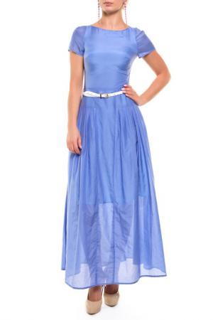Платье Бэст NATALIA PICARIELLO. Цвет: голубой