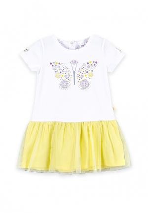 Платье Coccodrillo. Цвет: белый