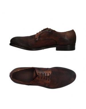 Обувь на шнурках PAWELK'S. Цвет: коричневый