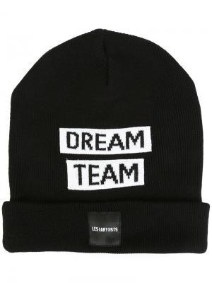 Шапка-бини Dream Team Les (Art)Ists. Цвет: чёрный