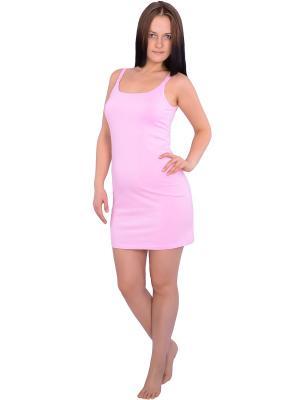 Сорочка Flammber. Цвет: розовый