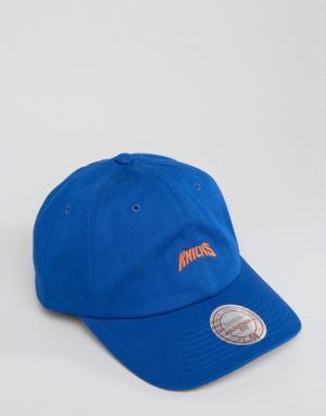 Mitchell & Ness Кепка Elements Dad NY Knicks. Цвет: синий