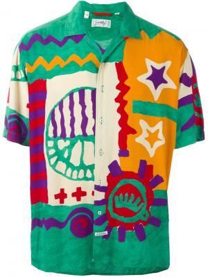 Рубашка с принтом Jc De Castelbajac Vintage. Цвет: многоцветный